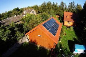 ekologiczny dom - fotowoltaika