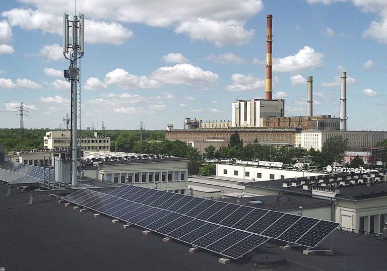 Warszawa - fotowoltaika dla przedsiębiorców na dachu płaskim