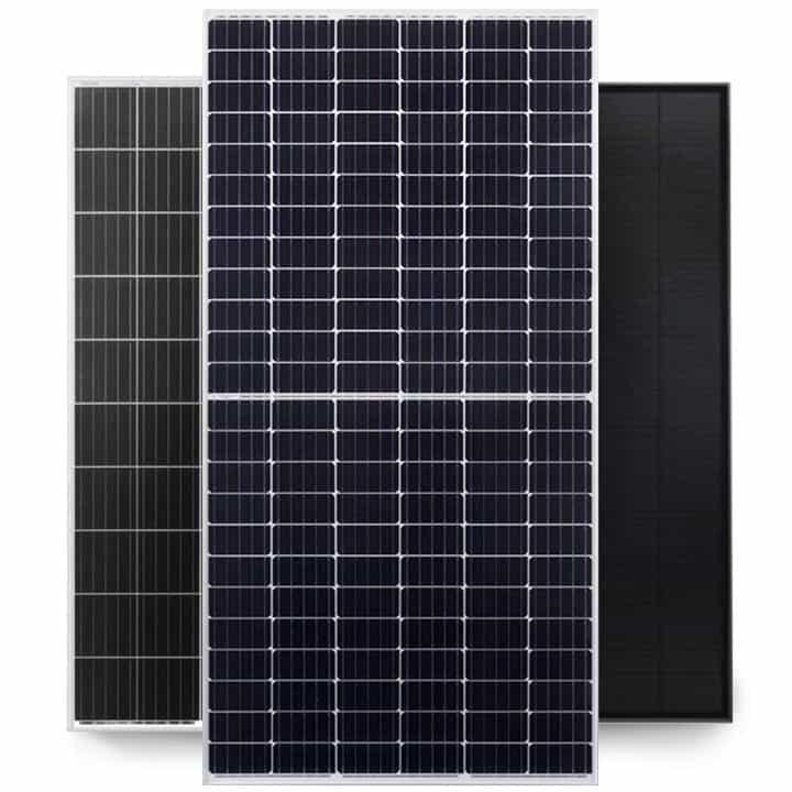 panele fotowoltaiczne stosowane z mikroinwerterami